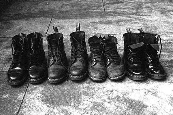 coturnos masculinos militares