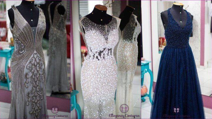 Qual a cor da moda para vestido de festa